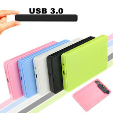 Slim USB 3.0 ESTERNO Hard Case Cover Box +Cavo per 2.5″ SATA HDD Hard Disk Drive