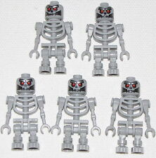 Lego Lot of 5 New Robo Skeletons from The Lego Movie Minifigures Figs