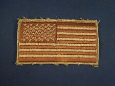 United States of America 50 Star American Flag Desert Storm Sew On Patch