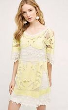NWT SZ 2 $268 ANTHROPOLOGIE TILLY LACE DRESS BY MOULINETTE SOUERS