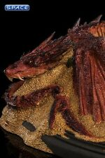 Smaug King under the Mountain Mini-Statue Hobbit Desolation of Smaug NEU WETA