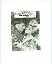 LAURENCE OLIVIER, RENEE ASHERSON movie photo lot of 3, HENRY V