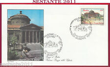 ITALIA FDC ROMA PIAZZA DELLA LIBERTà PALERMO 1987 ANNULLO Y87