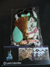 Disney Soda Fountain Marie of Aristocats perfume bottle LE 400 pin