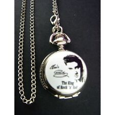 Elvis Presley Child Women Ladies Girl Men Fashion Pocket Pendant Watch Necklace