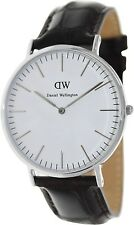 Daniel Wellington Men's York 0211DW Dark Brown Leather Quartz Watch