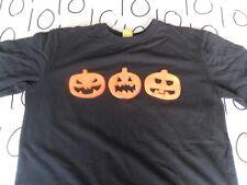 Large- Halloween Pumpkin Horror T- Shirt