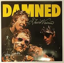 THE DAMNED DAMNED DAMNED DAMNED 40TH ANNIVERSARY LP SIGNED BY VANIAN & SENSIBLE