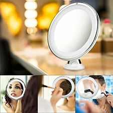Lighted Makeup Vanity Mirror LED 7X Magnifying Makeup Mirror +FREE Pocket Mirror
