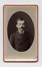 CDV Carte de visite Homme Moustaches BONDROIT Lille Vers 1900 Tirage d'époque