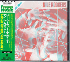 Nile Rodgers B-Movie Matinee 1998 Japan CD With Obi WPCR-2584 OOP HTF Very Rare