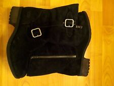 UGG CHANEY WOMEN'S Fall BOOTS BLACK Suede 1006042 SZ 8