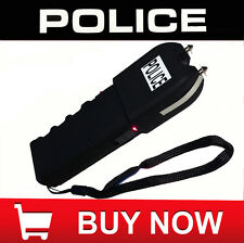 Police 240,000,000 Grab Guard Stun Gun with Flashlight Rechargeable