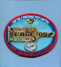 CVN-76 USS RONALD REAGAN VFA-22 OIF SURGE 2009 US Navy Squadron Cruise Patch