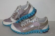 Reebok Realflex Optimal Running Shoes, #J93749, Wht/Blue/PPl, Women's US 7