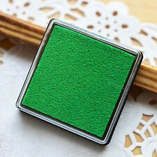 Light Green Little Inkpad Stamp Pad Ink Stamp Couples 4x4cm Square Candy Colors