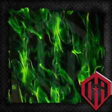 HYDROGRAPHIC WATER TRANSFER HYDRODIP HYDRODIPPING FILM HYDRO DIP GREEN FLAMES