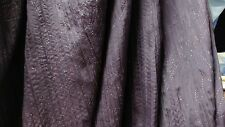 7m Light soft sparkle crinkle nylon taffeta fabric, Purple color 1.50 w