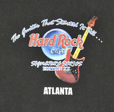 Hard Rock Cafe Signature Series Edition XX Eric Clapton T Shirt Mens XL Atlanta