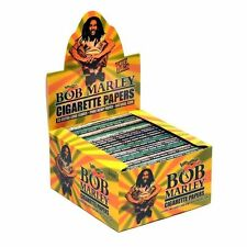 Bob Marley King Size Pure Hemp Cigarette Rolling Paper! 50 Packs X 33 Leaves..