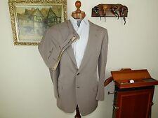 MINT! BRIONI doppio petto beige suit 48 58 UK UE 42 HAND Tailored ITALIANO