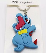 Pokemon Totodile Rubber Keychain 2.5 Inches US Seller