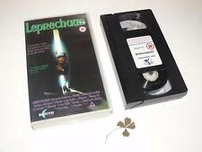 VHS Video ~ Leprechaun ~ Includes Four Leaf Clover ~Reflective Film Distribution