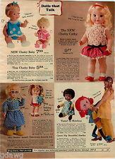 1970 ADVERTISEMENT Doll Tamu Shindana Buffy Chatty Cathy Baby Thumbelina Beasley