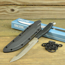 Cold Steel Tokyo Spike 420 Plain Edge Fixed Blade Tactical Neck Knife 53HS