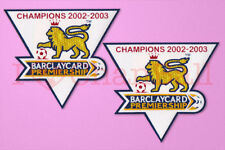 England Premier League Champion 02-03 Sleeve Gold Patch / Badge ManUnited Jersey