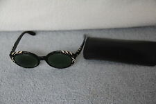 Black Gold & Studded Deco Bi-Focal Bewitching Bausch & Lomb Ray Ban Sunglasses