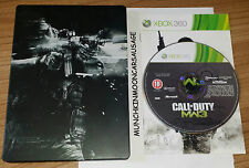 Call Of Duty Modern Warfare 3 MW3 Steelbook PAL Microsoft XBox 360 18+ Complete