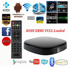 MINI SMART ANDROID TV BOX Kodi 8GB WiFi Media Player HDMI FULL HD 1080
