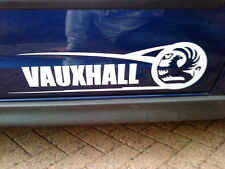 Vauxhall side graphics large vinyl car sticker x2 corsa astra stock rally racing