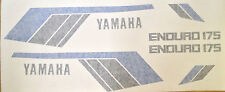 YAMAHA DT175MX 1979 PAINTWORK DECAL SET