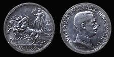 pci1299) Vittorio Emanuele III  (1901-1943) 2 lire Quadriga Briosa 1916