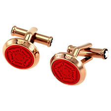 MontBlanc Round Tribute to Shakespeare Cuff Links