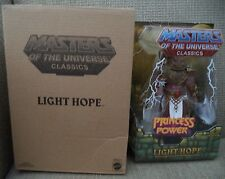 MASTERS OF THE UNIVERSE CLASSICS LIGHT HOPE FIGURE W/ MAILER BOX BHG41 2014