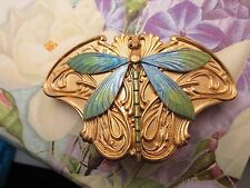 DRAGONFLY BARRETTES BRIDAL HAIR CLIPS ART DECO DRAGONFLY HAIR ACCESSORIES