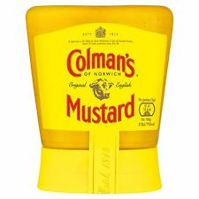 Colman's Original English Mustard Squeezy150g - Sold Worldwide from UK
