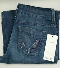 NEW DRY AGED DENIM JAMES JEANS USA Wide Leg Flare Wesley size 30