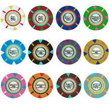 New Bulk Lot of 500 The Mint 13.5g Clay Casino Quality Poker Chips - Pick Chips!