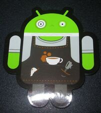 "ANDROID DROID Barista bot robot logo Sticker 2.5"" Google andrew bell"