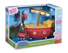 Peppa Pig - Grandad Dog's Pirate Ship BRAND NEW