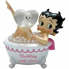 "Betty Boop 4 1/4"" Tall Mini-Figurine: Bubbling with Love Betty"
