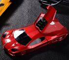 Cool 3D Race Sports Car Stand Hard Back Cover Case for iPhone 6 6S Plus 5S 4S