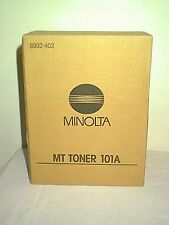 MINOLTA BLACK TONER MT 101A 8932-402 FOR COPIERS TWO IN BOX