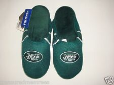 NFL New York Jets Team Jersey Indoor/Outdoor Slippers ~ Size LRG (11-12)