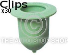 Panel Bodyside Trim Clip 9 MM For VW Golf Passat/Fiat Multipla 1408 Pack of 30