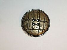 6 Botones de metal botones de capa 30,5mm Latón antiguo 268a